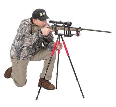 Bog-Pod® Xtreme Shooting Rest - 735539 action RLD3 kim kneeling