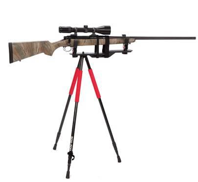 Bog-Pod® Xtreme Shooting Rest - 735539 w RLD3 scoped rifle