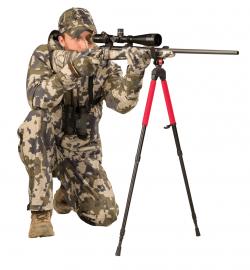 SB 2- Sportman's Bipod - 735544 action kneeling kyly 250x270