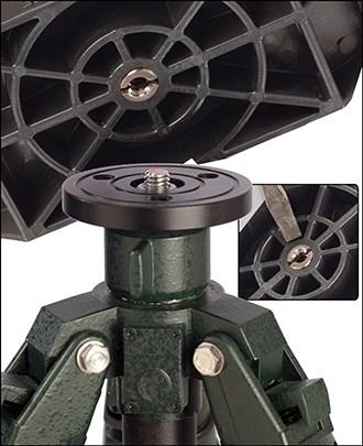 Bog-Pod® Binocular Rest - 735547 BBR Screw Mount