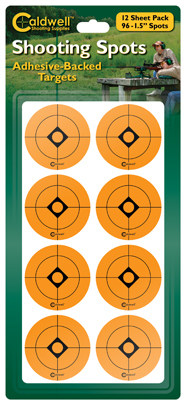 Shooting Spots and Squares - 1.5in Spots Packaged