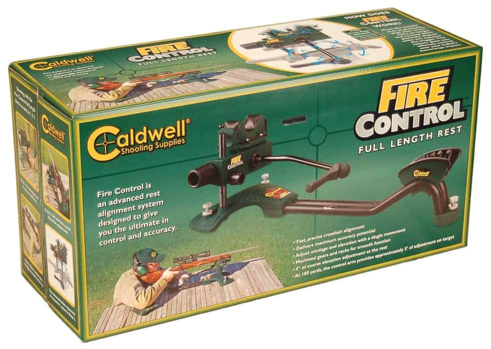 Fire Control® Full-length Rest™ - 100259 packaged