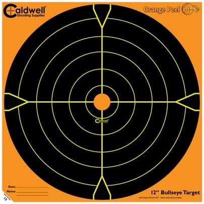 Orange Peel® Bullseye Targets - 12inch bullseye