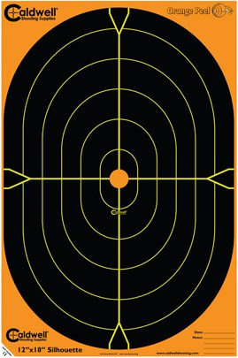 Orange Peel® Oval and Silhouette Targets - 12x18 SIL