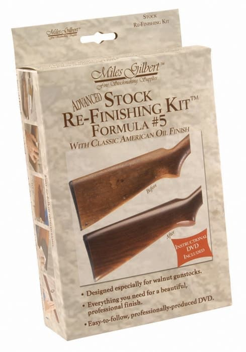 Advanced Stock Re-Finishing Kit, Formula 5 - 139021 packaged