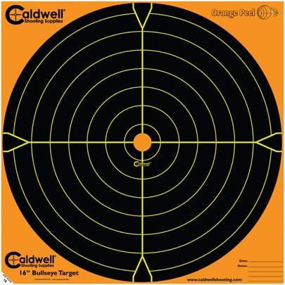 Orange Peel® Bullseye Targets - 16inch bullseye