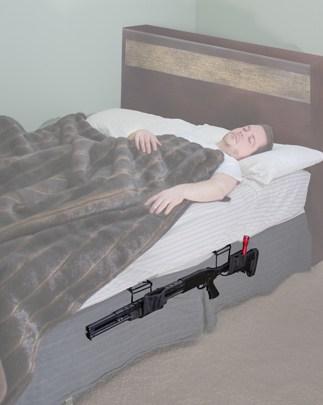 Night Guardian Gun Holster, Long Gun - 222503 bed kimber light Shotgun action white fade