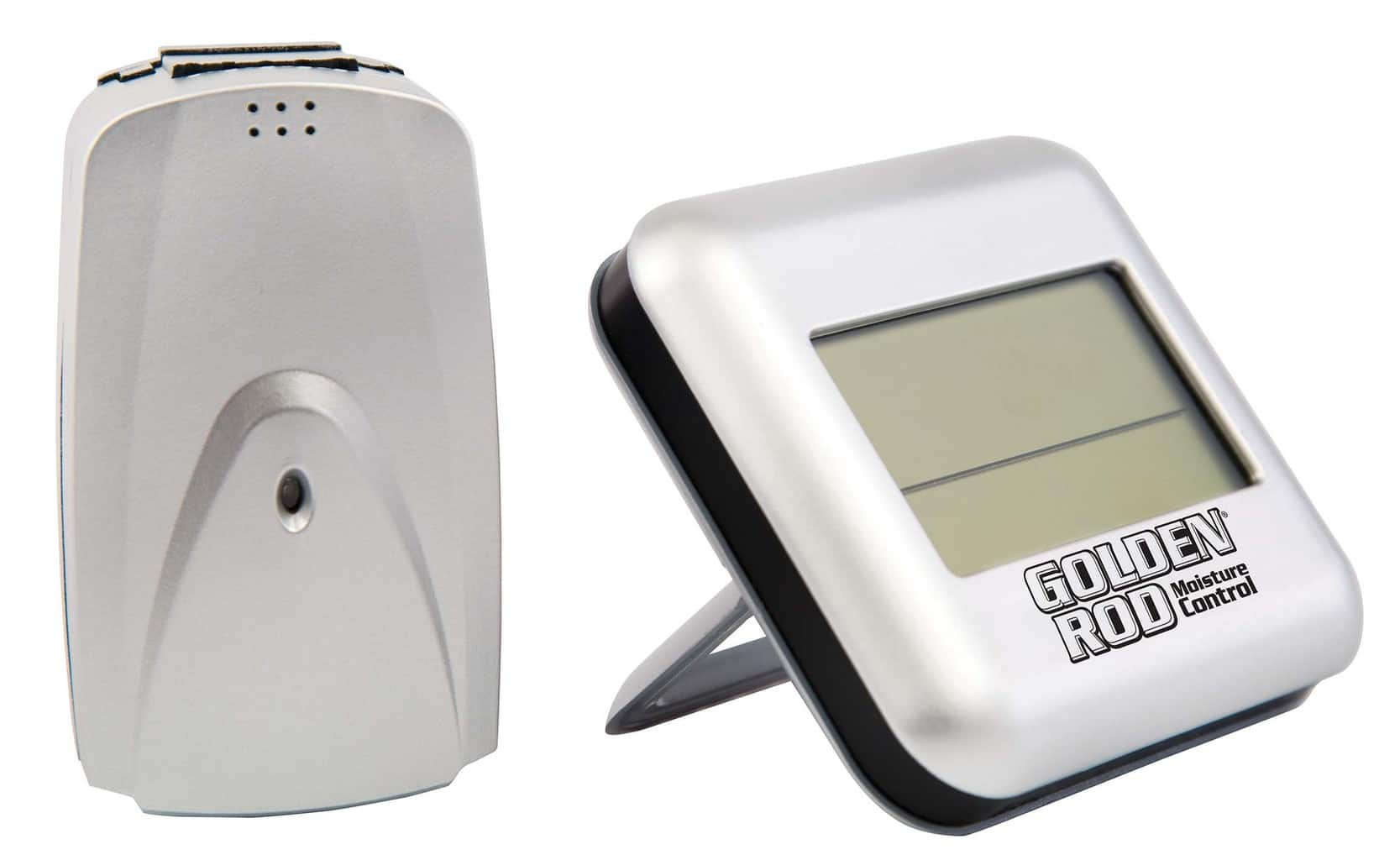 Golden Rod Digital Wireless Hygrometer - 222532 display Standing