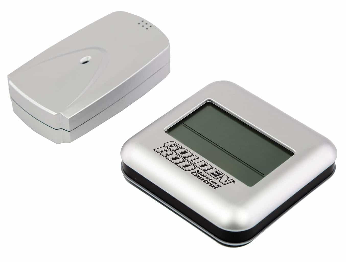 Golden Rod Digital Wireless Hygrometer - 222532 display