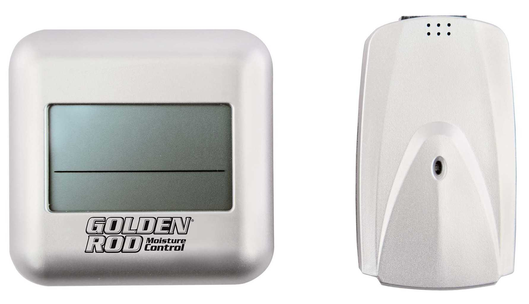 Golden Rod Digital Wireless Hygrometer - 222532