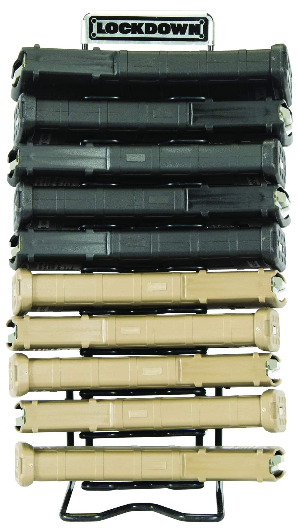 AR-15 Magazine Rack - 222972 Lockdown Full Mag Rack FRONT1