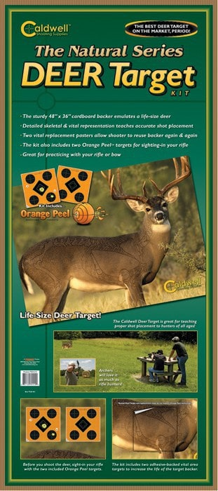 """The Natural Series"" Whitetail Deer Target - 234412 packaged"