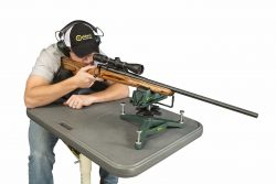 The Rock™ Deluxe Shooting Rest - 383774 action Kyle Topdown 250x167