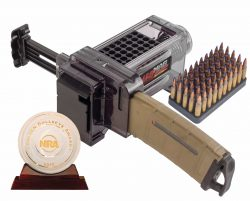Mag Charger® Universal Pistol Loader - 397488 with Golden Bullseye Award 250x201