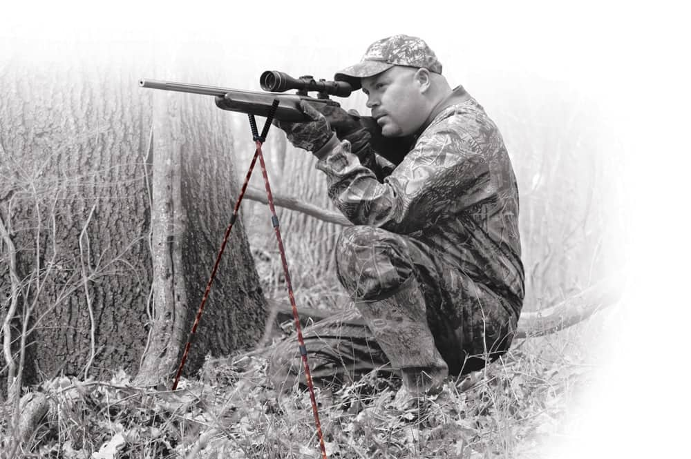 Shooting Sticks, Camo - 400555 sitting action faded BW