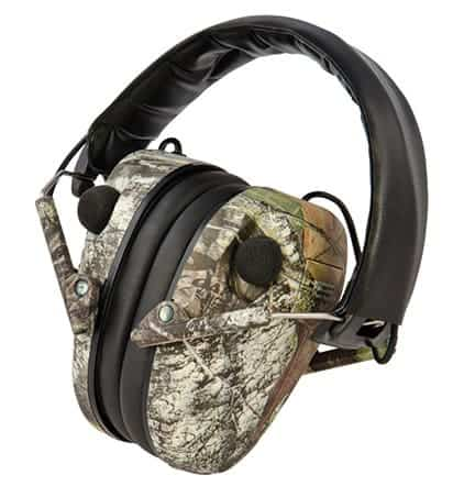 E-Max® Low Profile Electronic Hearing Protection - Mossy Oak BreakUp® - 487200 large