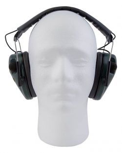 Caldwell® E-Max® Low Profile Electronic Hearing Protection - 487557 open On Dummy 250x314