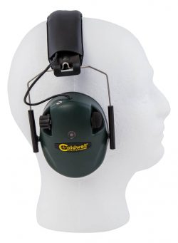 Caldwell® E-Max® Low Profile Electronic Hearing Protection - 487557 side On Dummy 250x341