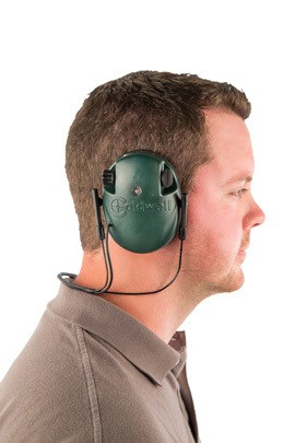 Caldwell® E-Max® Low Profile Behind the Head Electronic Hearing Protection - 487605 Action No Hat