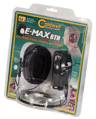Caldwell® E-Max® Low Profile Behind the Head Electronic Hearing Protection - 487605 Clam Display