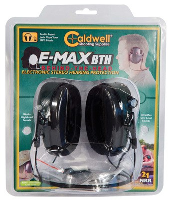 Caldwell® E-Max® Low Profile Behind the Head Electronic Hearing Protection - 487605 Clam