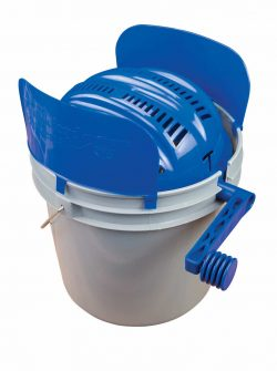 Quick-n-EZ™ Rotary Sifter Kit with Bucket - 507565 tumbler and bucket 1 250x335