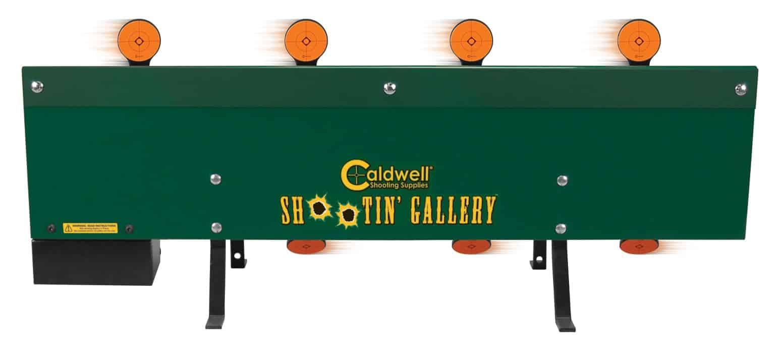Caldwell® Shootin' Gallery™ Motorized Rimfire Metal Target - 558978 action 1