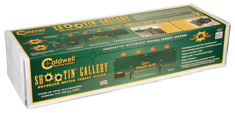 Caldwell® Shootin' Gallery™ Motorized Rimfire Metal Target - 558978 packaged