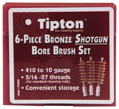 6 Piece Bronze Shotgun Bore Brush Set - 671861 planogram