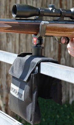Super Steady Saddlebag - 735559 action BSB rifle fence