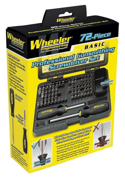 72 Piece Professional Gunsmithing Screwdriver Set - 776737 packaged