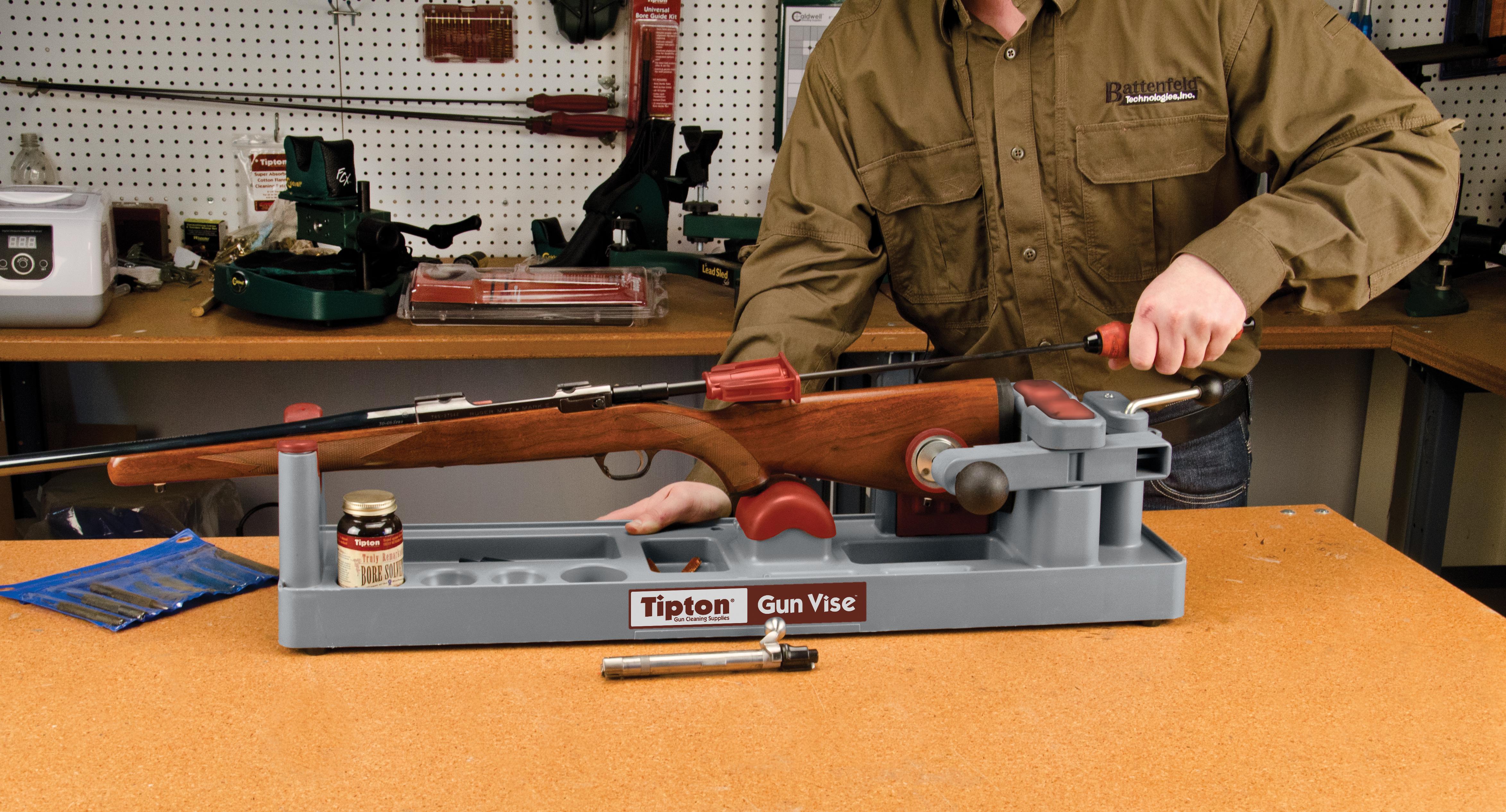 Gun Vise Battenfeld Technologies
