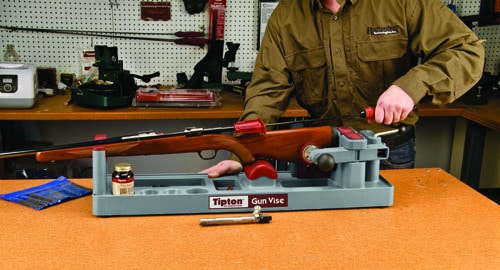 show use basement of it sure i more shots some measures gun my could handloading your though built bench the reloading cleaning in room s here by and