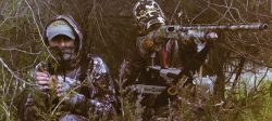 Caldwell® DeadShot® ChairPod - 795234 MoodShot Turkey Couple 250x112