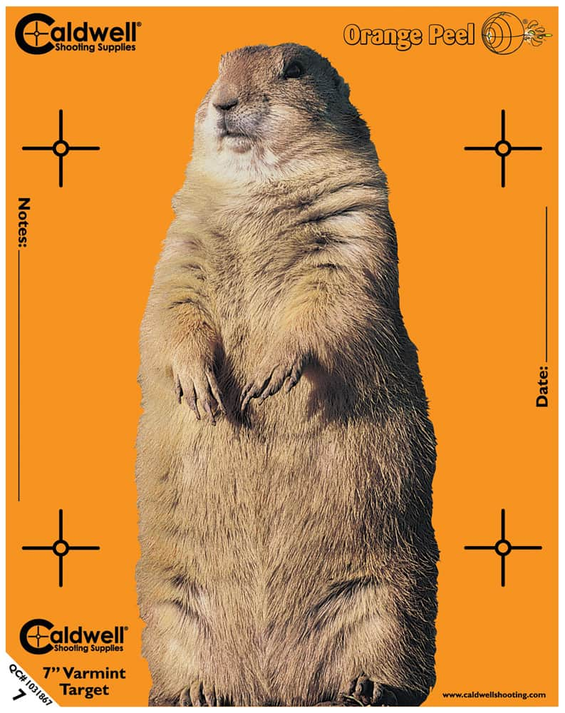 Caldwell® Orange Peel® Animal Targets - 7inch VARMINT1
