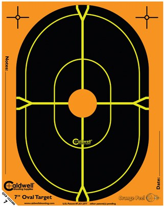Orange Peel® Oval and Silhouette Targets - 7inch oval