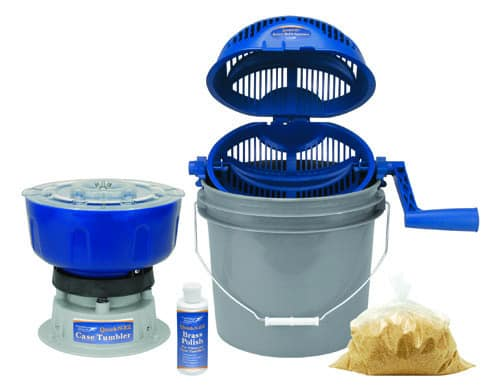 Platinum Series Rotary Tumbler 220 volt - 855020 QNEZ Case Cleaning Kit Collage