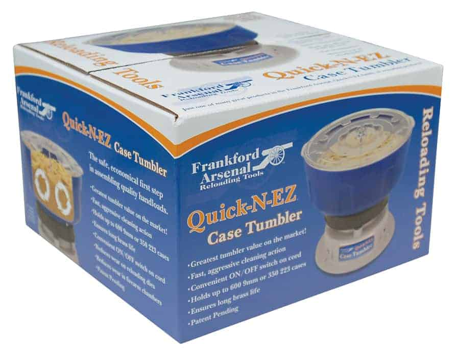 Quick-N-EZ™ Case Tumbler 220 Volt Kit - 855020 packaged