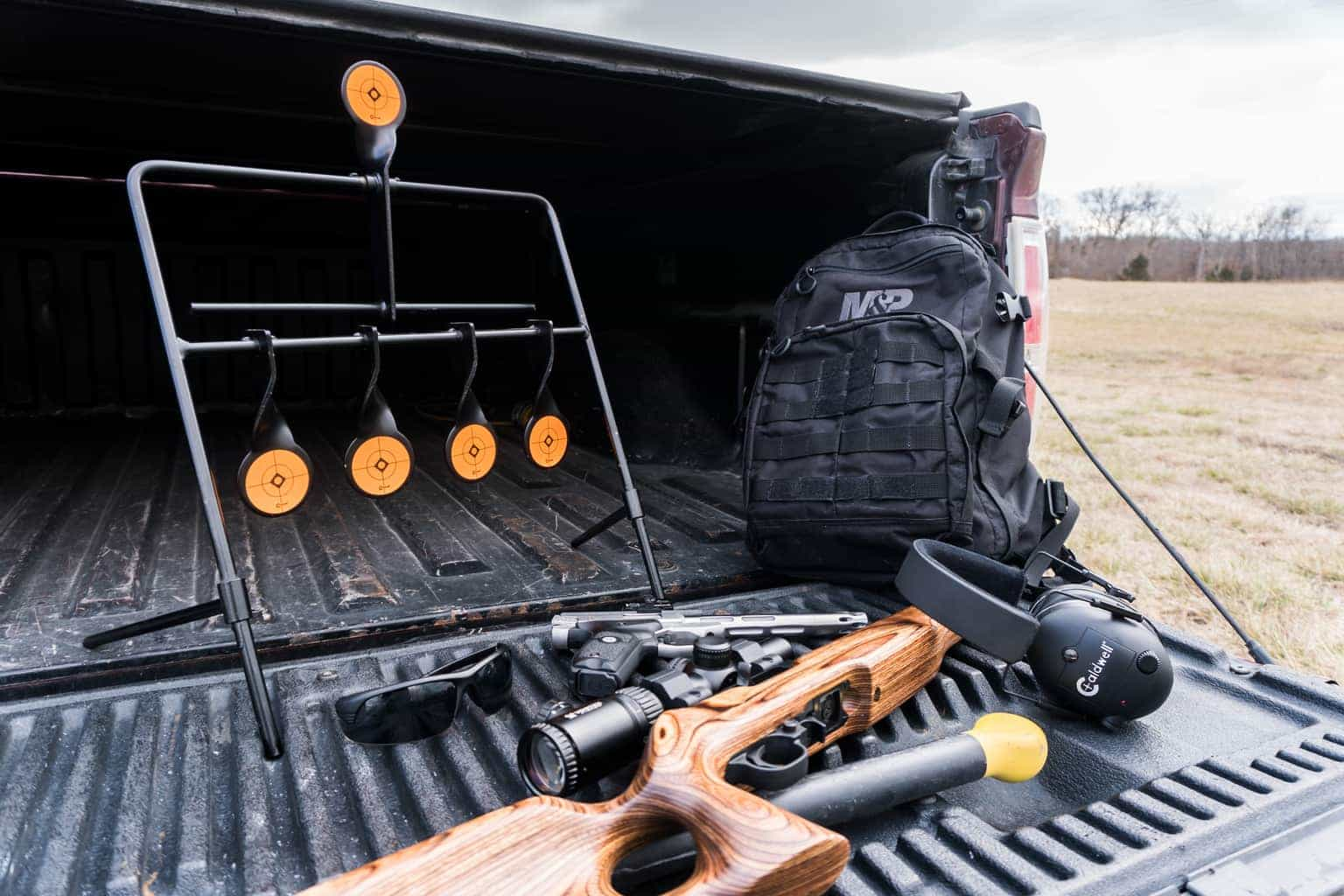 Rimfire Resetting Target - 902365 Still Life Truck Bed