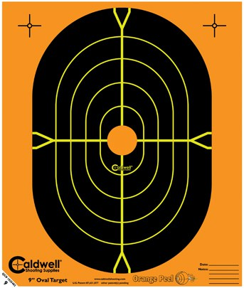 Orange Peel® Oval and Silhouette Targets - 9inch oval