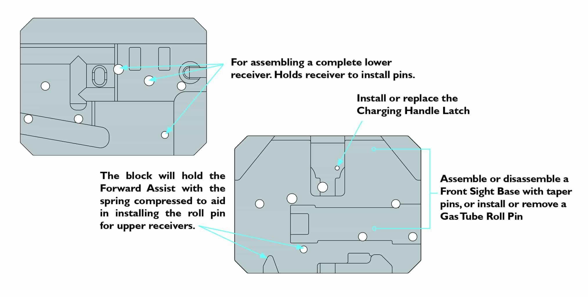 AR Armorer\'s Bench Block - Battenfeld Technologies