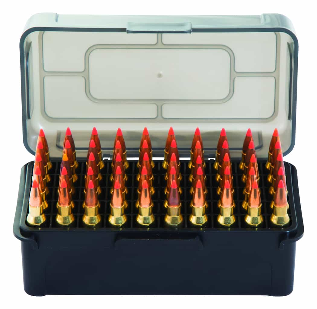 Caldwell® AK Mag Charger™ Ammo Box-7.62x39 (5 Pack) - 397623 Open Front