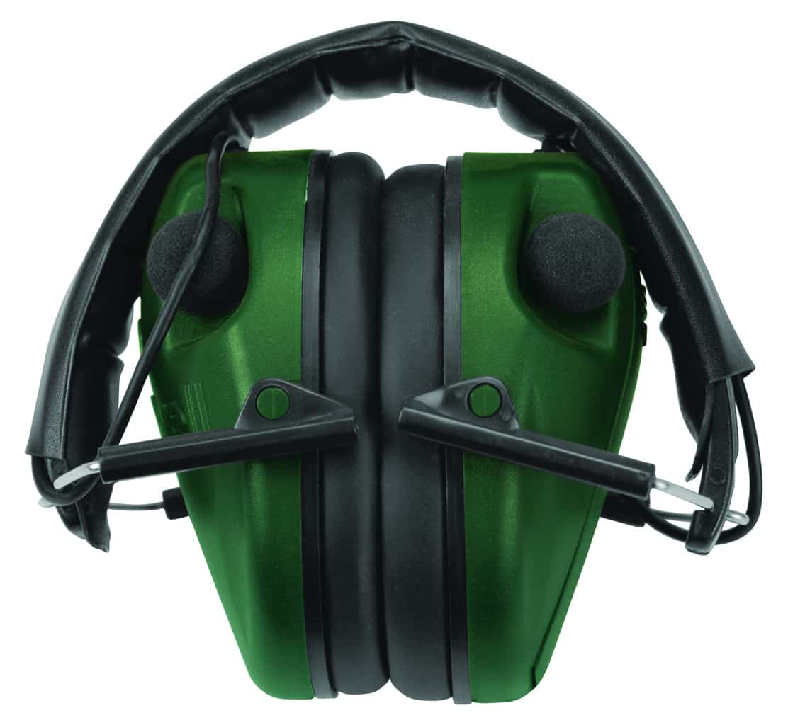 Caldwell® E-MAX® LoPro Electronic Muffs with Shooting Glasses - 487309 E Max Folded