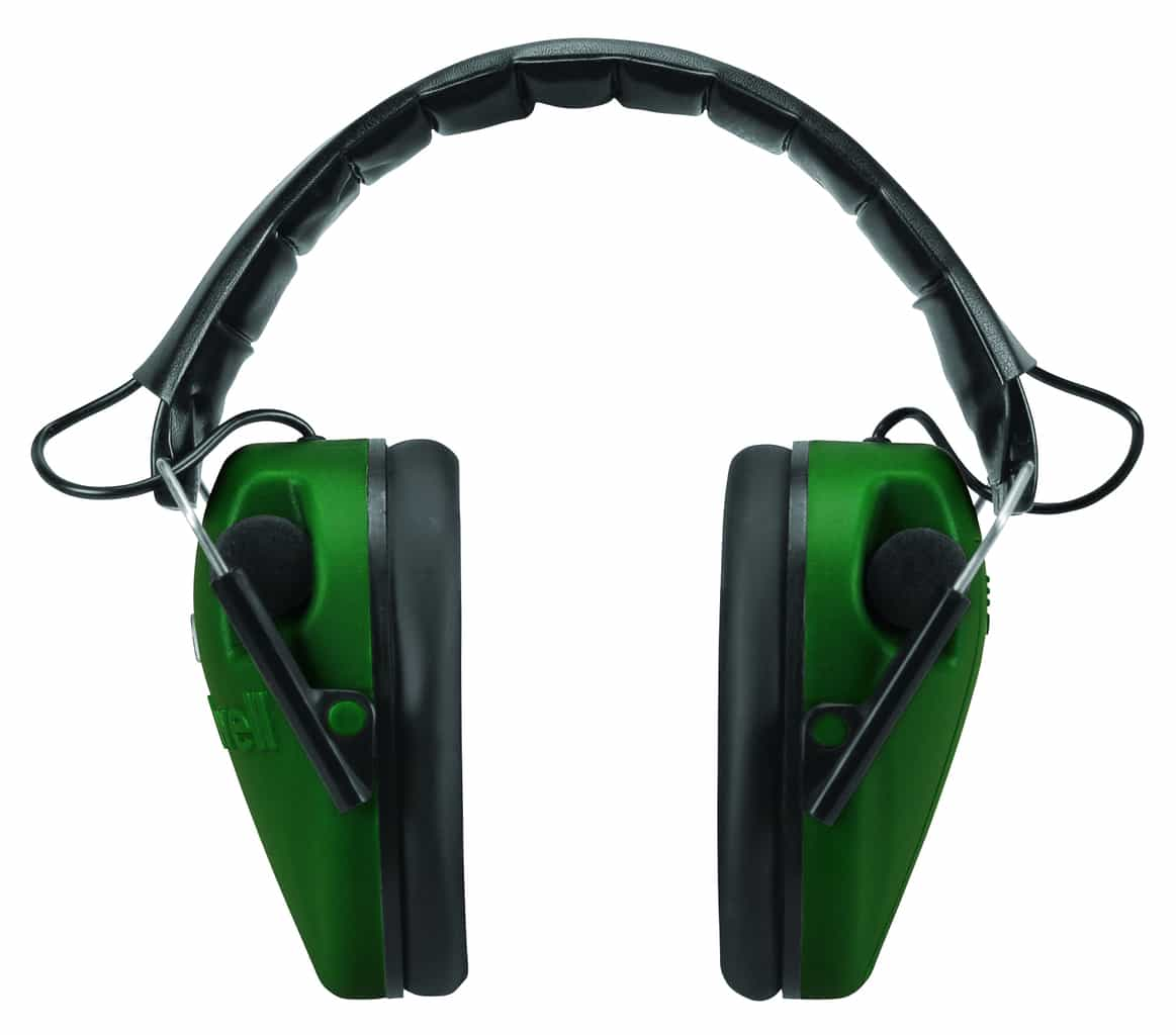 Caldwell® E-MAX® LoPro Electronic Muffs with Shooting Glasses - 487309 E Max Open