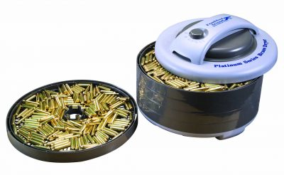 Platinum Series Rotary Tumbler 220 volt - 909213 action open w tray and brass e1505401122480