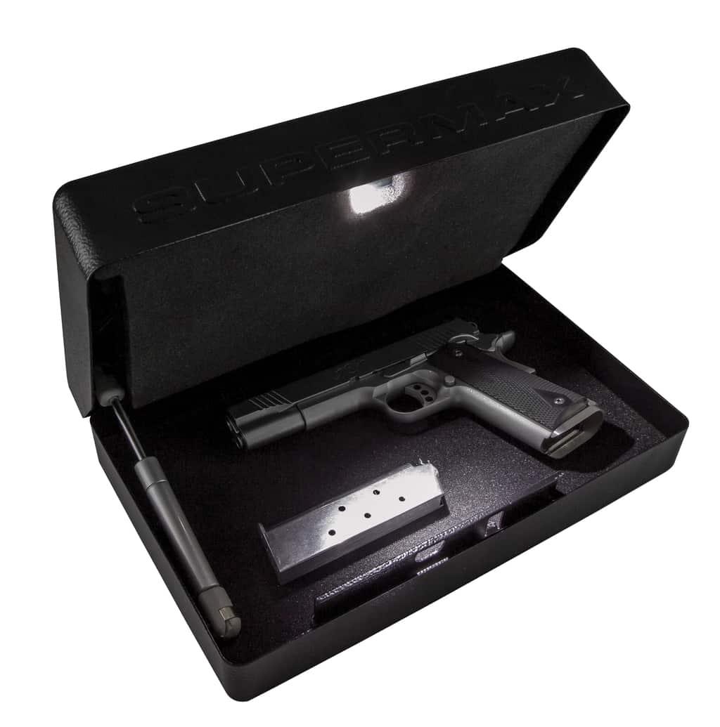 SuperMAX™ Universal Vault - Mechanical - 222905 open light gun