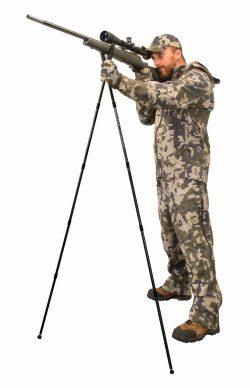 Bog-Pod® Dead Silent Standing Shooting Sticks - 7355665 action rifle 250x388