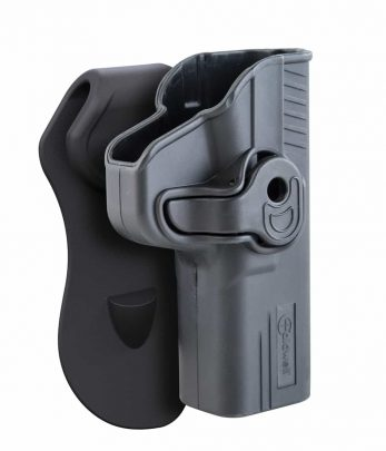 Caldwell® Molded OWB Retention Holsters - 110059 3qtr view mock 347x405