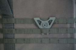 Tac Ops M.O.L.L.E. Attachment - 110086 action on MOLLE 250x167