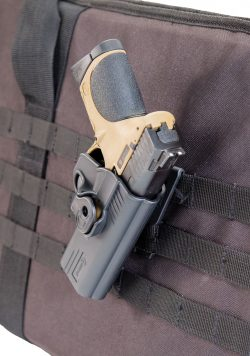 Tac Ops M.O.L.L.E. Attachment - 110086 w holster MP on molle 250x356